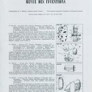 1959 Swiss Horology Patents Brevets Suisses Vintage 1959 Swiss Magazine Clipping