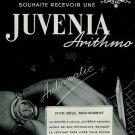 1951 Juvenia Watch Company Arithmo Vintage 1951 Swiss Ad Switzerland Suisse Advert Horlogerie