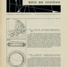 1959 Horology Patents Inventions Brevets Suisse 1959 Swiss Magazine Clipping