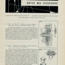 1958-1959 Review of Swiss Horology Patents Brevets Suisse Horlogerie Switzerland