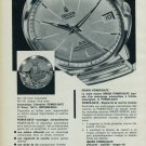 1963 Gruen Watch Company Switzerland Power Date Vintage 1963 Swiss Ad Suisse Advert Horology