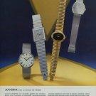 1976 Juvenia Watch Company Switzerland Vintage 1976 Swiss Ad Suisse Advert Horlogerie Horology
