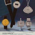 1976 Golana Watch Company Golana Uhren AG Vintage 1976 Swiss Ad Suisse Advert Horlogerie Horology