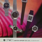 1976 Gruen Watch Company Neuchatel Switzerland 1976 Swiss Ad Suisse Advert Horlogerie Horology