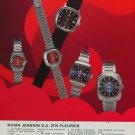 1976 Olma Watch Company Numa Jeannin SA Switzerland 1976 Swiss Ad Suisse Advert Horlogerie Horology