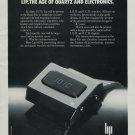 1976 Lip Watch Company Vintage 1976 Swiss Ad Suisse Advert Horlogerie Horology
