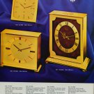 1976 Imhof Clock Company Arthur Imhof SA 1976 Swiss Ad Suisse Advert Switzerland Horlogerie Horology