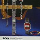 1976 ROWI Rodi & Wienenberger AG Company 1976 Swiss Ad Suisse Advert Horology Horlogerie