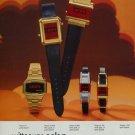 1976 Wittnauer Watch Company Switzerland Polara 1976 Swiss Ad Suisse Advert Horlogerie Horology