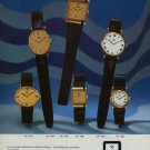 1976 Camy Watch Company Geneva Switzerland Vintage 1976 Swiss Ad Suisse Advert Horlogerie Horology
