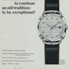 1967 Fortis Watch Company Grenchen Switzerland 1967 Swiss Ad Suisse Advert Horlogerie Horology