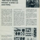 1962 Breitling Watch Company Readex Award for Advertising Swiss Magazine Article Horlogerie Horology