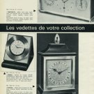1965 Luxor Clock Company Switzerland Vintage 1965 Swiss Ad Suisse Advert Horlogerie Horology