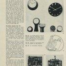 Le Mouvement Portescap 1967 Swiss Magazine Article by Lothar M Loske Horlogerie Horology Suisse