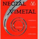 1964 Neotal Vimetal S.A. Geneva Switzerland 1964 Swiss Ad Suisse Advert Horology Horlogerie