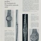 1964 Formes et Techniques Nouvelles Presentees  l'Horlogerie de l'Exposition Nationale Suisse