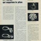1965 Un Nouveau Systeme de Reglage Qui Supprime le Piton Swiss Magazine Article Horlogerie Horology
