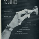 Tub Watch Bracelet Company Chatenoud France 1976 Swiss Ad Suisse Advert Horology Horlogerie