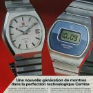 1976 Certina Watch Company Kurth Freres SA Grenchen 1976 Swiss Ad Suisse Advert Horlogerie Horology