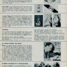 1963 Ulysse Nardin Watch Company Eterna Buren Benrus 1963 Swiss Magazine Clipping Horlogerie