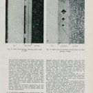 1950 Methods for the Examination of Gold Plating Vintage 1950 Swiss Magazine Article Horology