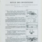 Swiss Horology Inventions Patents Vintage 1958 Swiss Magazine Article Suisse Horlogerie Switzerland