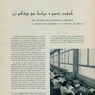 1958 Le Pilotage par Horloge a Quartz Centrale 1958 Swiss Magazine Article Horlogerie Horology