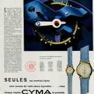 1953 Cyma Watch Company Tavannes Vintage 1953 Swiss Ad Suisse Advert Switzerland Horlogerie Horology