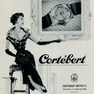 1953 Cortebert Watch Company Switzerland Vintage 1953 Swiss Ad Suisse Advert Horlogerie Horology