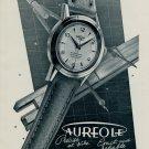 1953 Aureole Watch Company La Chaux-de-Fonds Switzerland Vintage 1953 Swiss Ad Suisse Advert