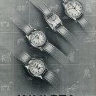 1951 Invicta Watch Company Switzerland Vintage 1951 Swiss Ad Suisse Advert Horlogerie Horology
