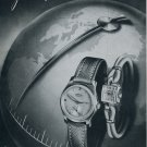 1951 Recta Watch Company Switzerland Vintage 1951 Swiss Ad Suisse Advert Horlogerie Horology
