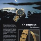 Eterna Watch Company Grenchen Switzerland 1980 Swiss Ad Suisse Advert Horology Horlogerie