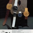 Mido Watch Company Switzerland Ocean Star Advert 1980 Swiss Ad Suisse Advert Horlogerie Horology
