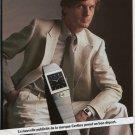 Certina Watch Company Switzerland 1980 Swiss Ad Suisse Advert  Horlogerie Horology