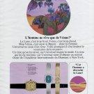 1969 Universal Geneve Watch Company Switzerland 1969 Swiss Ad Suisse Advert Horlogerie Horology