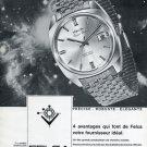 1969 Felca Watch Company Felca Space Star Advert 1969 Swiss Ad Suisse Advert Horlogerie Horology