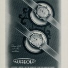 1955 Aureole Watch Company Switzerland M Choffat & Co. 1955 Swiss Ad Suisse Advert