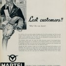 1955 Martel Watch Company Switzerland Vintage 1955 Swiss Ad Suisse Advert Horlogerie Horology
