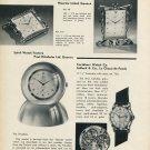 1954 Rosemont Clock Company Cortebert Solvil New Models Vintage 1954 Swiss Magazine Article Horology