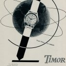 1953 Timor Watch Company Switzerland Vintage 1953 Swiss Ad Suisse Advert Trust Timor