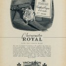 1954 Vacheron & Constantin Watch Company Switzerland Royal 1954 Swiss Ad Suisse Advert Horology