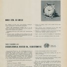 1955 Pierce Watch Company IWC Doxa Montilier Roamer News from Exhibitors 1955 Swiss Magazine Article