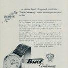 1953 Tissot Watch Company 100 Year Anniversary Vintage 1953 Swiss Ad Suisse Advert Switzerland