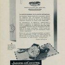 1953 Jaeger-LeCoultre Watch Company SR-497 Advert 1953 Swiss Ad Suisse Advert Switzerland