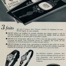 1953 Gruen Watch Company Switzerland Vintage 1953 Swiss Ad Suisse Advert TWA Trans World Airlines