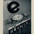 1953 Election Watch Company Switzerland Grand Prix Ad Vintage 1953 Swiss Ad Suisse Advert