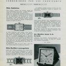 1939 Mido Watch Company Luxor Clock Company Vintage 1939 Swiss Magazine Article Suisse Horlogerie