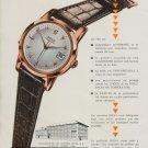 1955 Doxa Watch Company Montres Doxa SA Switzerland Vintage 1955 Swiss Ad Suisse Advert
