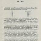 1955 Les Bureaux Officiels de la Marche des Montres 1954 Swiss Magazine Article